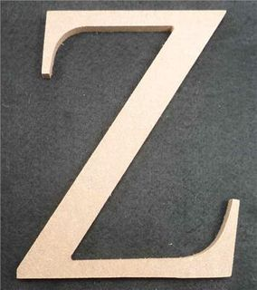 Wooden Alphabet Letter Medium Z