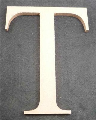 Wooden Alphabet Letter Medium T