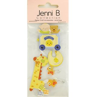 Jenni B Baby With Giraffe 6Pcs