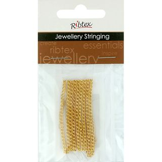 Chain Twisted Oval Link 3x2mm Gold 1m