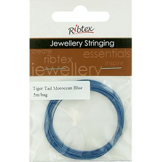 JF TIGER TAIL MOROCCAN BLUE 5M