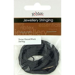 Jf Twine Thread Black 5M