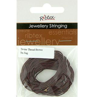 Jf Twine Thread Brown 5M
