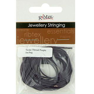 Jf Twine Thread Purple 5M