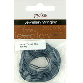 Jf Twine Thread Blue 5M