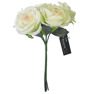 FLOWER FOAM ROSE 5H CREAM PINK 1BCH