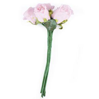 FLOWER FOAM ROSE 7H PINK 1BCH