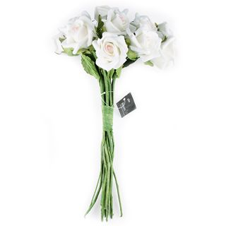 FLOWER FOAM ROSE 12H CREAM PINK 1BCH