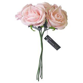FLOWER FOAM ROSE 5H PINK 1BCH