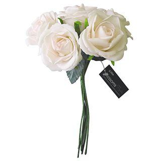 FLOWER FOAM ROSE 5H PALE PINK 1BCH