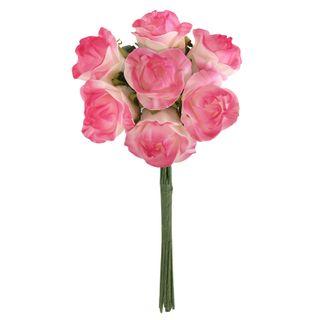 FLOWER FOAM ROSE 7H HOT PINK 1BCH