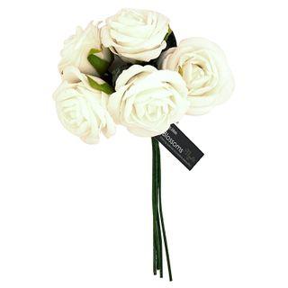 FLOWER FOAM ROSE 5H ICEBERG 1BCH