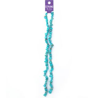 BEAD PRECIOUS STONE CHIPS TURQUOISE 35G