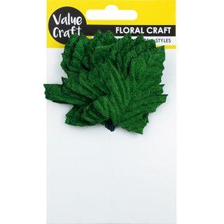 LEAF VELVET OAK GREEN 12PCS
