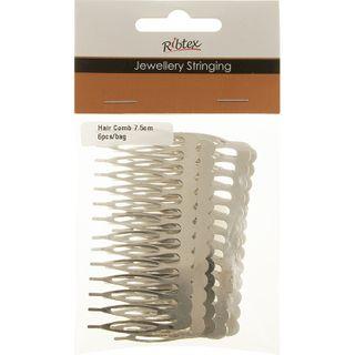 Jf 7.5Cm Hair Comb Asst. 6Pcs