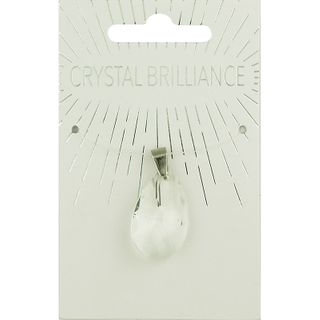 CHINESE CRYSTAL PEND TDROP 28X18MM CRY