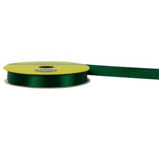 RIB 10MM POLYESTER SATIN DARK GREEN 10M
