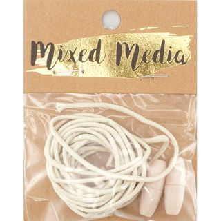 Jute Cord With Breakaway Clasp Natural