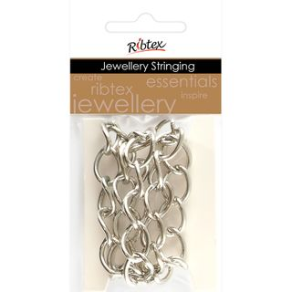 Chain Twisted Oval Link 14x11mm Silver