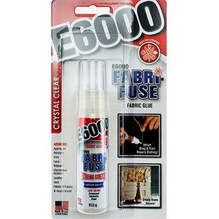 CRAFT GLU E6000 FABRI-FUSE CLEAR 59.1ML