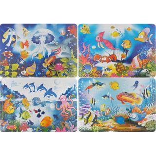 4 Puzzle Pack - Ocean Scenes - 48Pcs