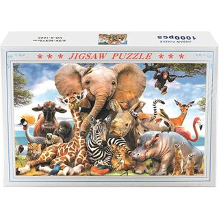 Jigsaw Puzzle Animals 1000Pcs
