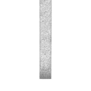 Ribbon 15mm Nylon Metallic Taffeta Silvr