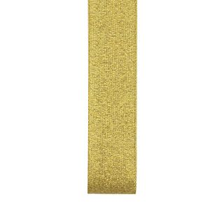 Rib 25mm Nylon Metallic Taffeta Gold 23m