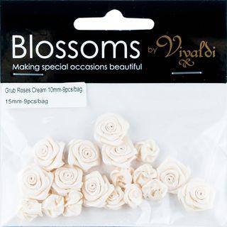 Flower Grub Rose Mixed Cream 18Pcs