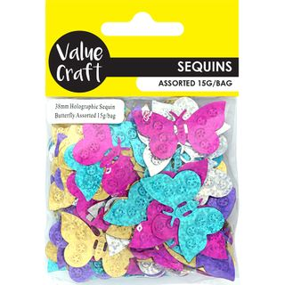 CRAFT HOLOGRAPHIC SCATTER LG B'FLY 15G