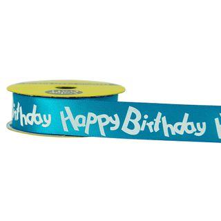 RIB 22MM HAPPY BIRTHDAY TQ-WH 3M
