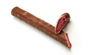 Giant Chocolate Raspberry Rolls