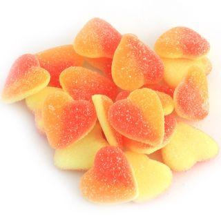 Sour Peach Hearts