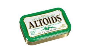 Altoids Spearmint Tin