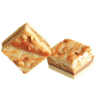 Caramel Nut Slice Fudge