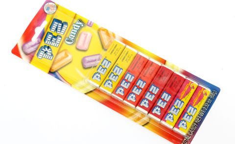 Pez Refill 4 Flavours 8 Pack 68g
