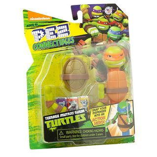 PEZ TMNT Connectibles