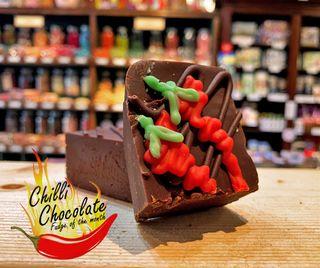 Chilli Chocolate Fudge