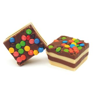 Mini M&M Fudge
