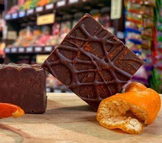 Chilli Chocolate Orange Fudge