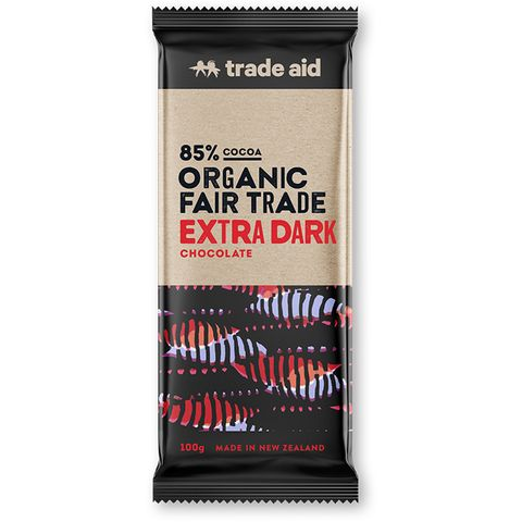 Trade Aid Extra Dark Chocolate 85%