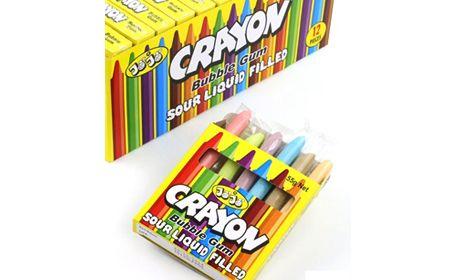 Crayon Bubble Gum