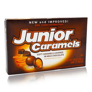 Junior Caramels 3.6oz Theatre Box