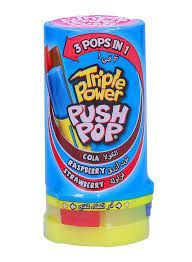 Triple Power Push Pop