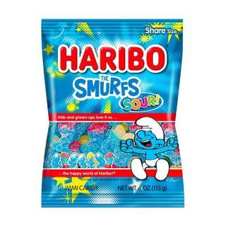 Haribo Sour Smurfs 113g