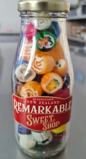 Mini Milk Bottles - Assorted Rock