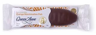 Queen Anne DK Choc Fish Orange 50g