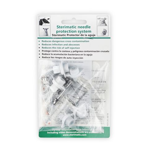 STERIMATIC 500 Dose Kit Clear Sleeve