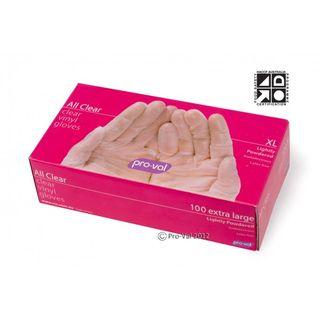 Gloves Al lClear Vinyl LP Lge 41022