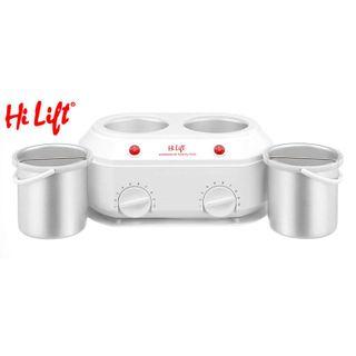 Hi Lift Twin Wax Pot 1Litre/1Ltr.